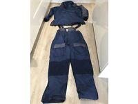 BOAT FISHING/BEACH FISHING - Shakespeare SALT Bib/Brace and Thermal Smock Jacket size XL