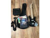Kids Electric Guitar Starter Kit