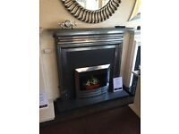 """POLISHED SOLID CAST IRON 54"""" MANTLE"""