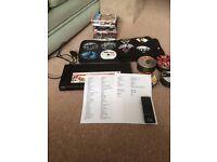 DVD Player bundle, 150 films + Remote & Wallet. Excellent condition. Films listed,