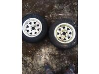 "Trailer wheels 13"""