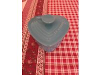 Le Creuset Heart Shape Stoneware Dishes with Lids