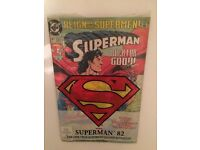 Superman 82 Oct 1993 with full-colour poster and an original sleeve