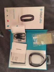Fitbit alta with the full box