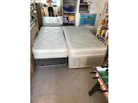Pull out trundle guest bed