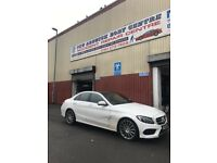 BREAKING MERCEDES C CLASS 2015 W205 ALL PARTS AVAILABLE
