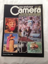 Photography Magazines You and Your Camera