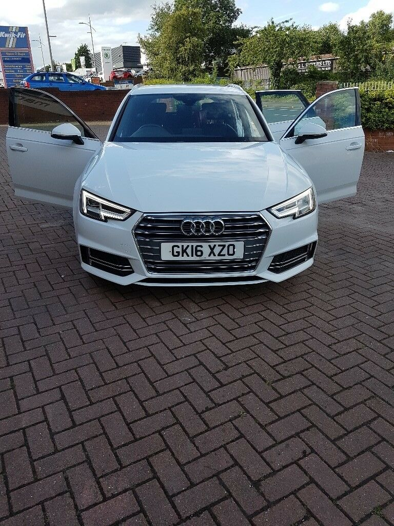 Audi A4 Avant B9 S Line Glacier White In Hull East Yorkshire