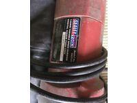Sealy random orbital 750 sander and power drill