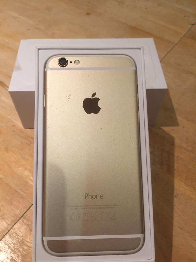 iphone 6 32gb gold in plymouth devon gumtree. Black Bedroom Furniture Sets. Home Design Ideas