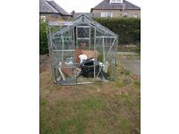 Glass Aluminium Green house for sale