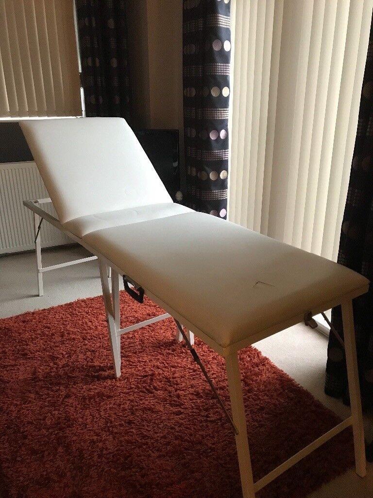 Beauty Couch / wax pot etc