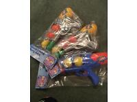 Brand new water guns