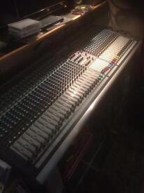 Soundcraft gb4 40 channel desk
