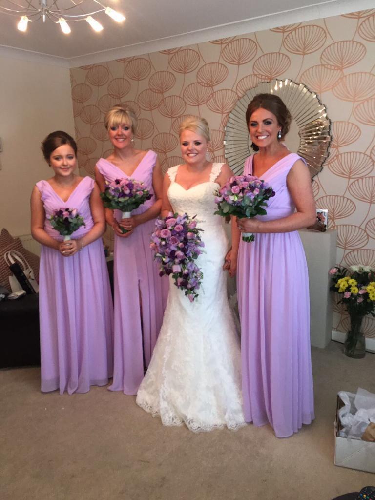 Bridesmaid dresses x 3 lilac | in Bishopbriggs, Glasgow | Gumtree