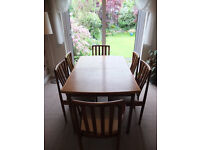 Meredew Dining Table And 6 Chairs