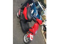 Sym symply 50cc moped