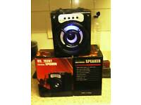 L.E.D Bluetooth speaker