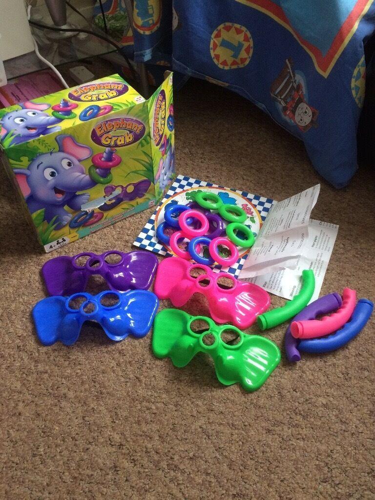 Elephant grab game