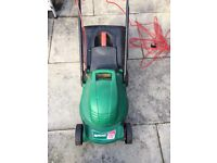 Electric lawnmower and electric trimmer