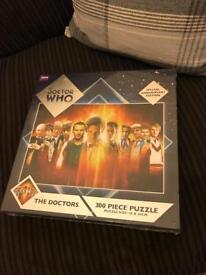 Doctor Who 'The Doctors' special anniversary jigsaw