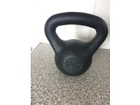 16kg Kettlebell for sale, brand new only used twice