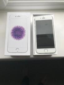 I phone 6 silver 16gb