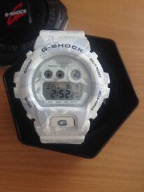 mens guess an G shock watch