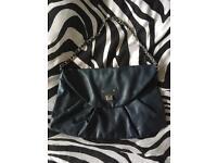 Dark blue Handbag