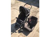 Hauck pram and car seat