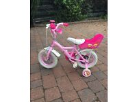 Apollo Cupcake Kids Bike - 12 inches (inc knee pads and helmet)