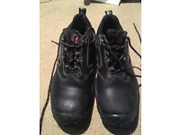 Steel work shoes size 9