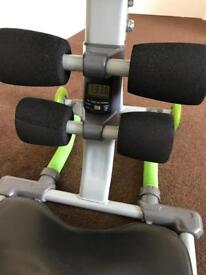 Abs exercise machine