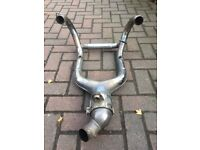 BMW R1200GS exhaust downpipes