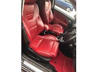 Red Recaro seat