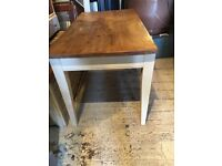 DINING TABLE FARMHOUSE COUNTRY STYLE SEATS 6-8 DISMANTLES DRAWER