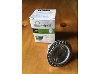 NEW illumin8 LED 3.6W 218 lumen Warm White 2700k MR16 light bulbs. Happy to post. £4 for 12 bulbs