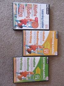 Learning Ladder PC CD-ROM x 3