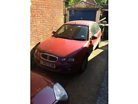 Rover 25 2003 has origanal rover alloys new tyres