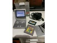 Game Boy advance sp classic gaming
