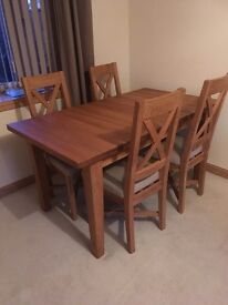 Martin and Frost Solid Oak table, £700 ono