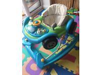 Race car baby walker