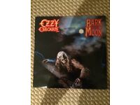 "Ozzy osbourne bark at the moon 12"" original love vinyl record"