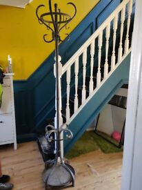 Black cast iron coat and hat stand £50 ONO