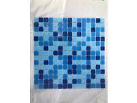 Blue Mosiac Ceramic Tiles