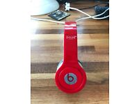 Beats By Dr. Dre Solo HD Special Edition Red - Great Condition! - All Wires and Case Included!