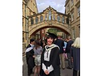 Friendly, Patient, Dedicated History Tutor for GCSE, A-Level and Oxbridge Admissions