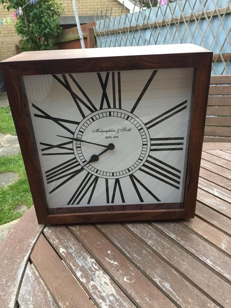 Mclaughlin Scott Wooden Mantel Clock