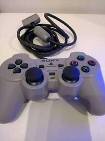 Official PSone/PS2 Grey Controller Like New
