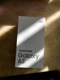 Samsung galaxy a3 2017 16gb black (new and sealed)